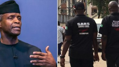 Nigeria's Vice President, Osinbajo reacts to SARS brutalities after meet with IGP