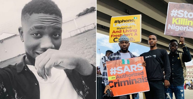Nigerian man shares heart wrenching story of how his brother was allegedly killed by SARS officers in 2018