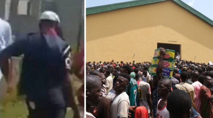 NSCDC officer sacked after looting COVID-19 palliatives in Abuja warehouse