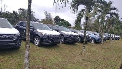 PHOTOS: Gov Ayade presents 54 brand new SUVs to local govt chairmen, deputies
