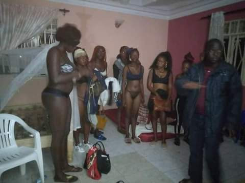 PHOTO: Police bust sex party, arrest 21 persons in Uganda