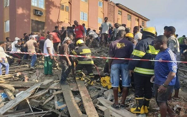 Tragedy as four dead, eight injured in Lagos building collapse