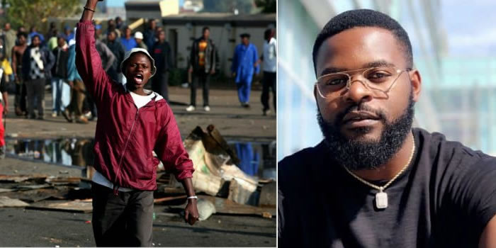 """""""They Are Killing Us"""" – Falz Heartbroken Over Killings Of #EndSARS Protesters At Lekki Toll Gate"""