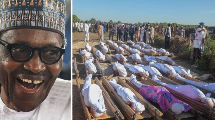 President Buhari and Borno's valley of death
