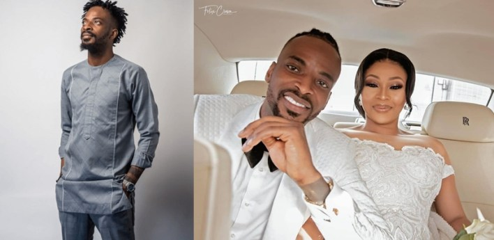9ice apologises for cheating on wife
