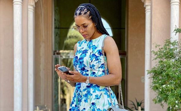 Watch: Connie Ferguson shares video of her daughter, Alicia dancing