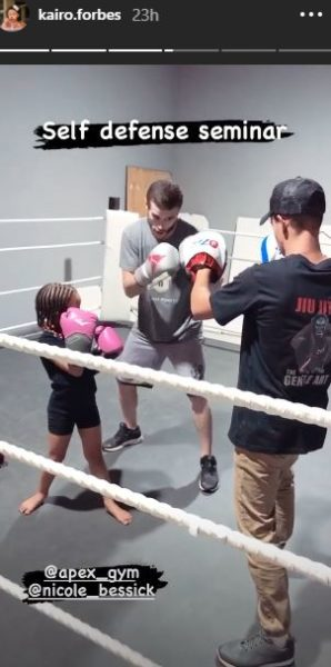Kairo Forbes follows father, AKA's footstep by boxing