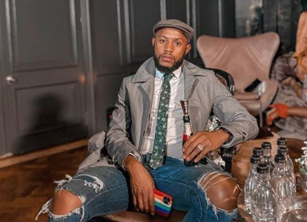 Mohale Motaung hints on having a new partnership