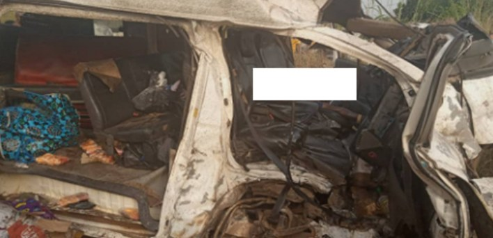 Six dead, 11 injured as truck, bus collide in Anambra