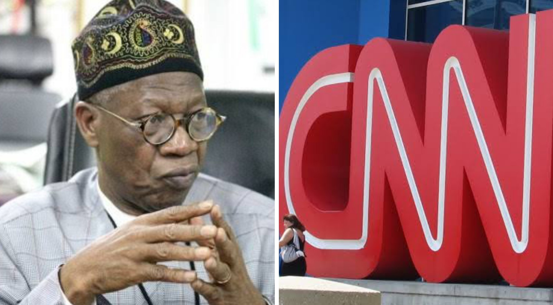 Lekki shootings: New report shows CNN is desperate, says Lai Mohammed