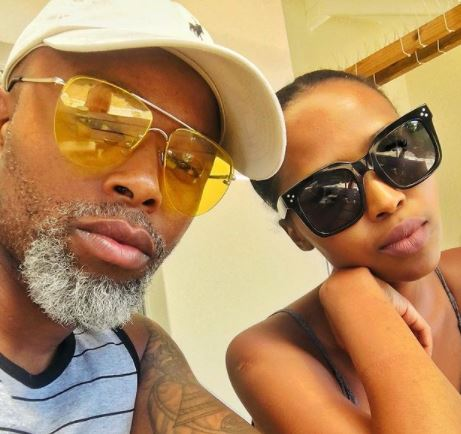 Thapelo Mokoena and wife all loved up as they celebrate 8years marriage anniversary