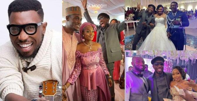 Timi Dakolo Performs For Free After Storming Eight Weddings in Abuja