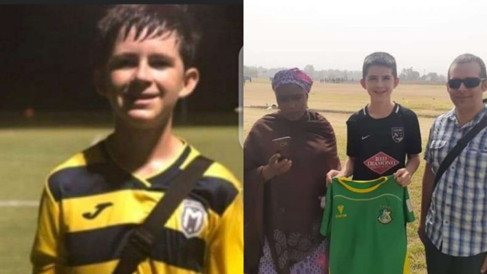15-year-old American, Neuer Abraham Joins Kano Pillars From US Football Academy