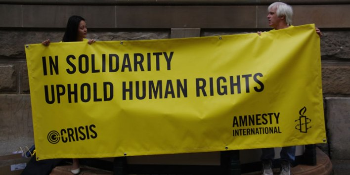 Amnesty International and global rejection