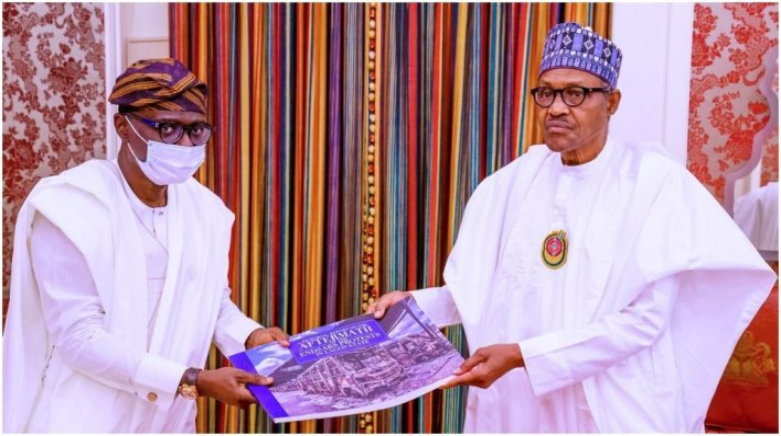 EndSARS: Buhari receives report on Lagos 'destructions'