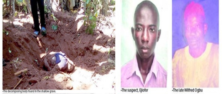 Boy kills 83 year father In Enugu, buries him in pit toilet