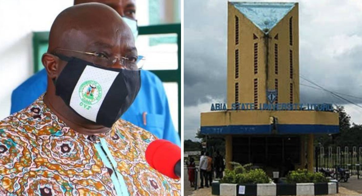 COVID-19: Gov Ikpeazu reacts after Abia University asked students to pay N15,000 'pandemic prevention fee