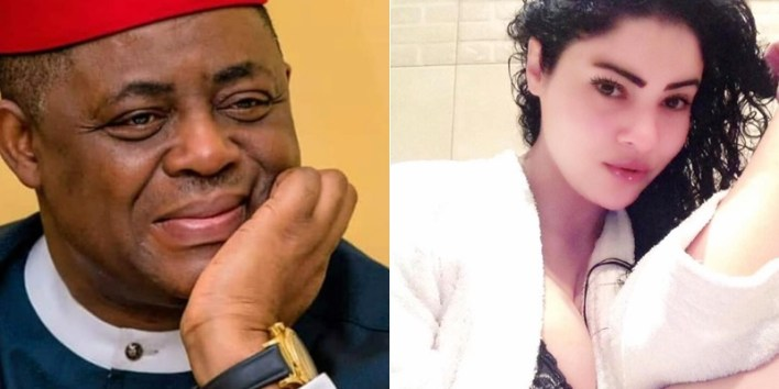 Fani-Kayode Sparks Dating Rumour With Egyptian Woman