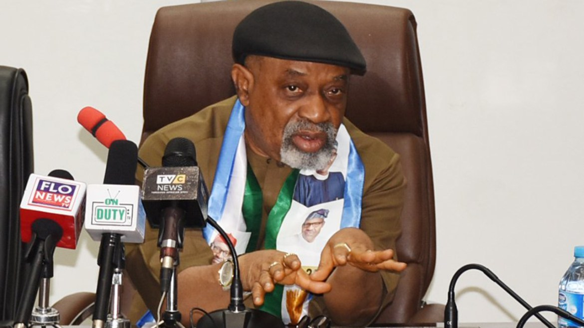 Nigeria's minister, Ngige speaks on ASUU's proposed payment platform, says it has no hardware backing