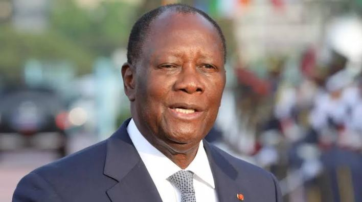 Ivory Coast president Ouattara re-elected for third term
