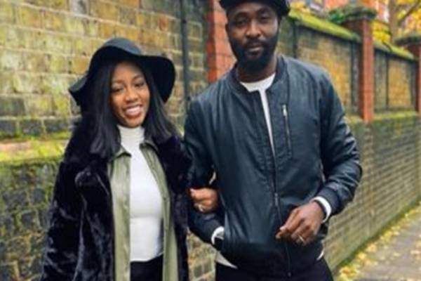 Khafi and Gedoni flaunt their 'wedding rings' as they vacation in London for her birthday
