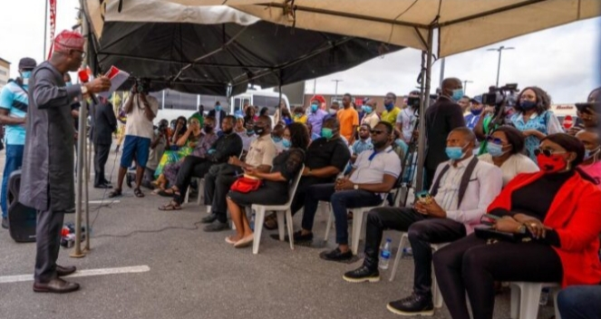 Lagos pledges tax break for business owners affected by #EndSARS crisis