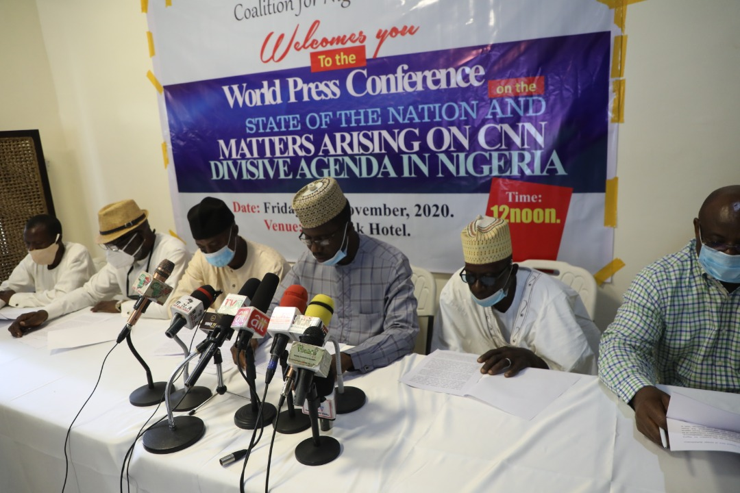 Lekki Shooting: CNN is Nigeria's newest face of foreign destabilisation, coalition says