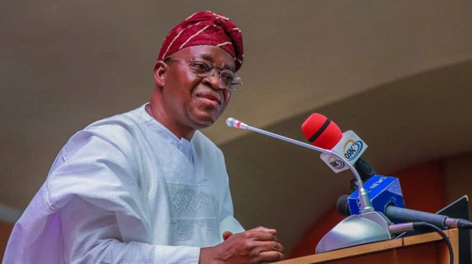 Oyetola presents 2021 budget to Osun Assembly