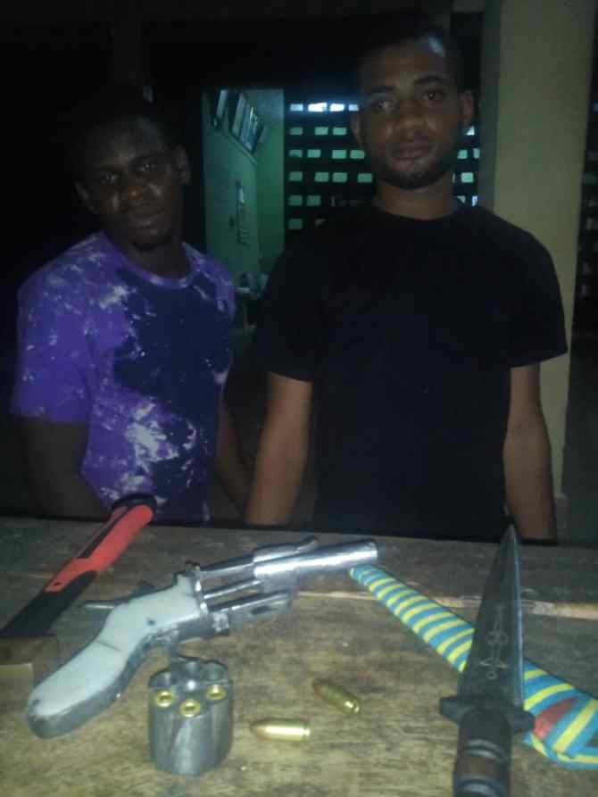 Police arrest two suspects, recover arms and others in Anambra