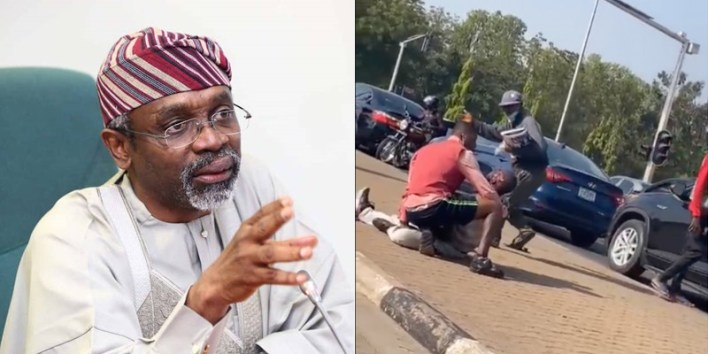 BREAKING: Gbajabiamila reveals identity of security personnel who shot Abuja vendor, hands him over to DSS