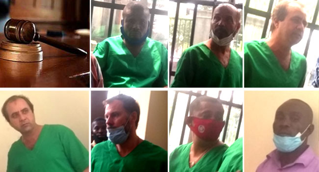 Oil theft: Court jails six foreigners, one Nigerian for seven years