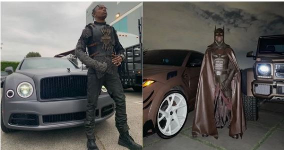 "Travis Scott compared as a ""Cockroach"" over Batman costume, deletes Instagram account"