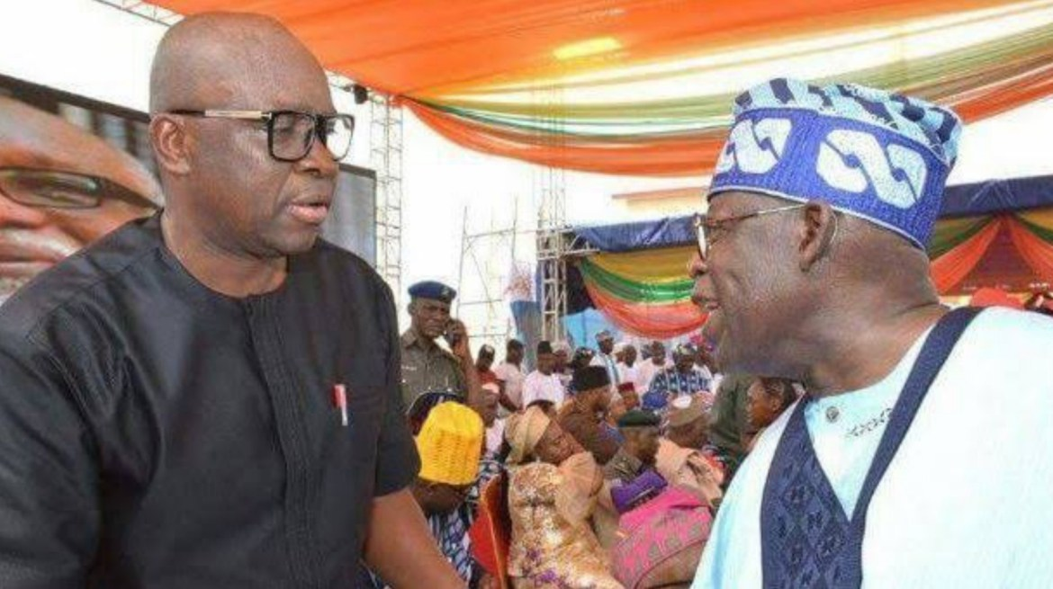Why I will never join conspiracy to shoot down Tinubu – Fayose