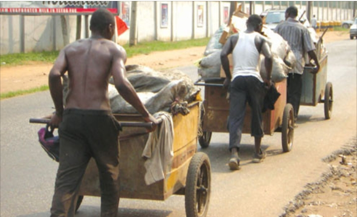 Ogun state bans waste cart pushers from operating in the state