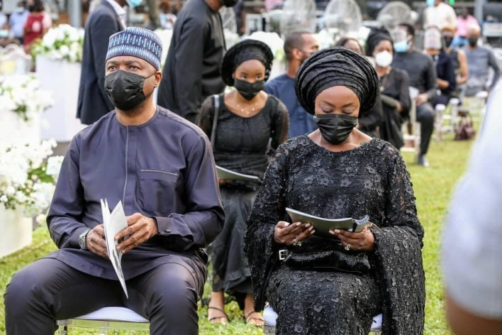 Photos from the service of songs for late socialite, Dapo Ojora