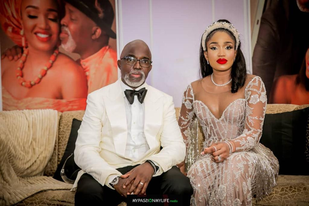 Photos of NFF President, Amaju Pinnick and family at his 50th birthday party