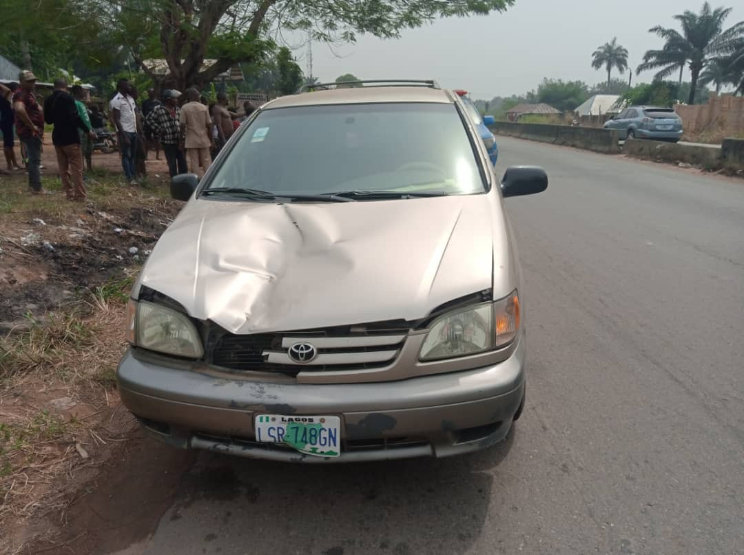 PHOTOS: Speeding driver kills child in Anambra