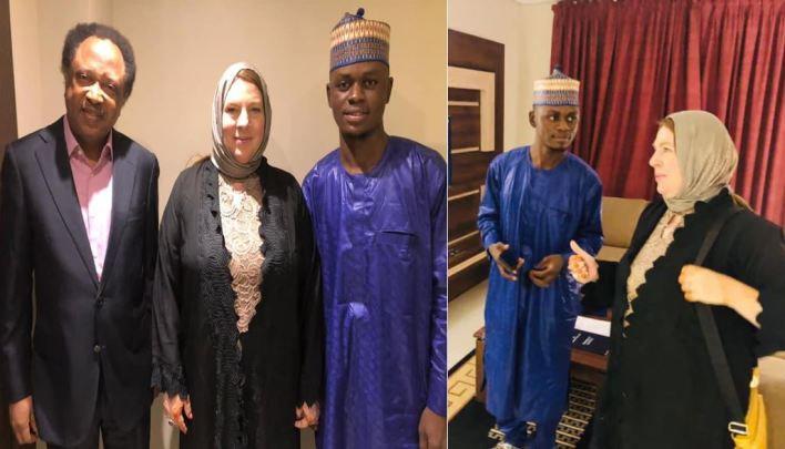Photos from wedding ceremony of 23-year-old Kano man and 46-year-old American lover