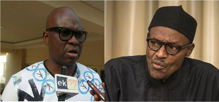 Fayose blasts Buhari over failure to appear before N'assembly