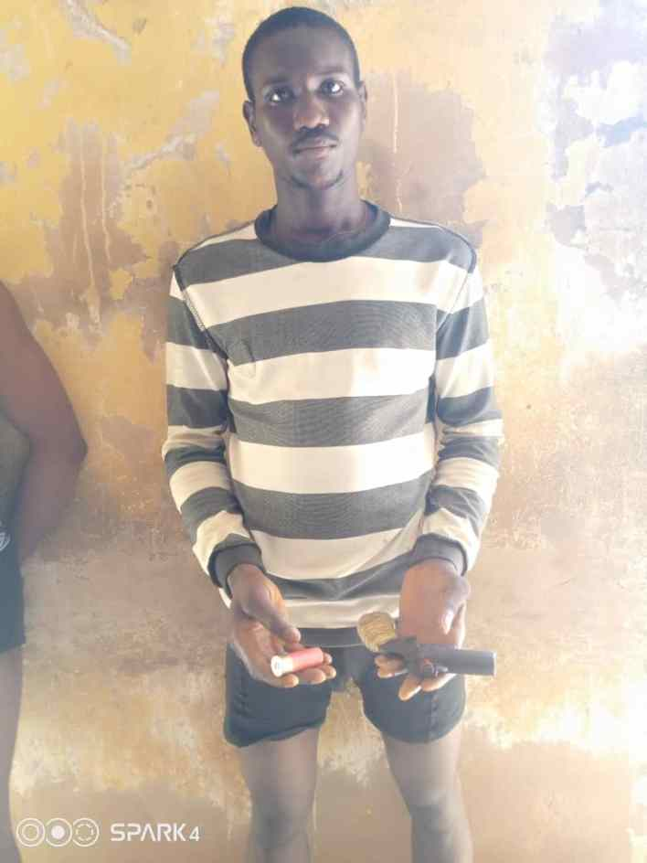 PHOTOS: Police arrest four suspected cultists in Anambra