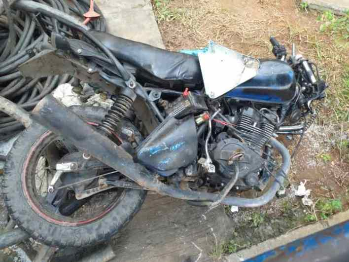 Police arrest three traffic robbery suspects in Lagos, recovers operational motorcycle, weapons