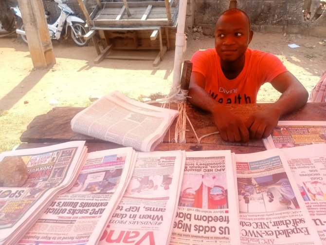 ASUU strike crushed my dreams, turned me to newspaper vendor – Final year student cries