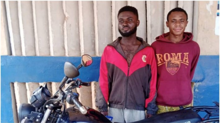 Dispatch rider, friend arrested for stealing company's bike in Ogun