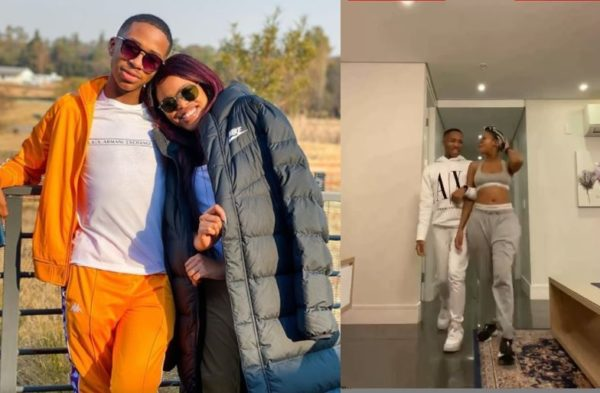 Check out Lasizwe and Natasha Thahane's hilarious Tik Tok video
