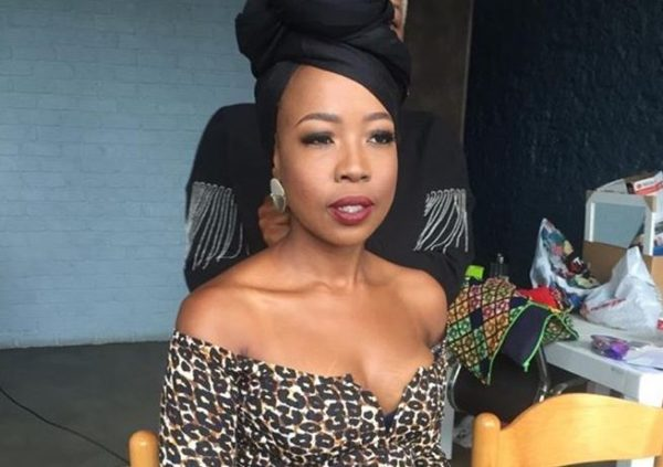 """Ntsiki Mazwai wants the Covid-19 vaccine to be tested on leaders : """"lead by example"""""""