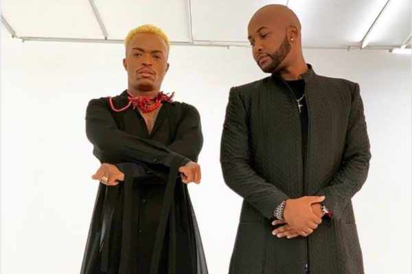"Somizi and bestie, Vusi Nova working on ""Ntandane"" music video"