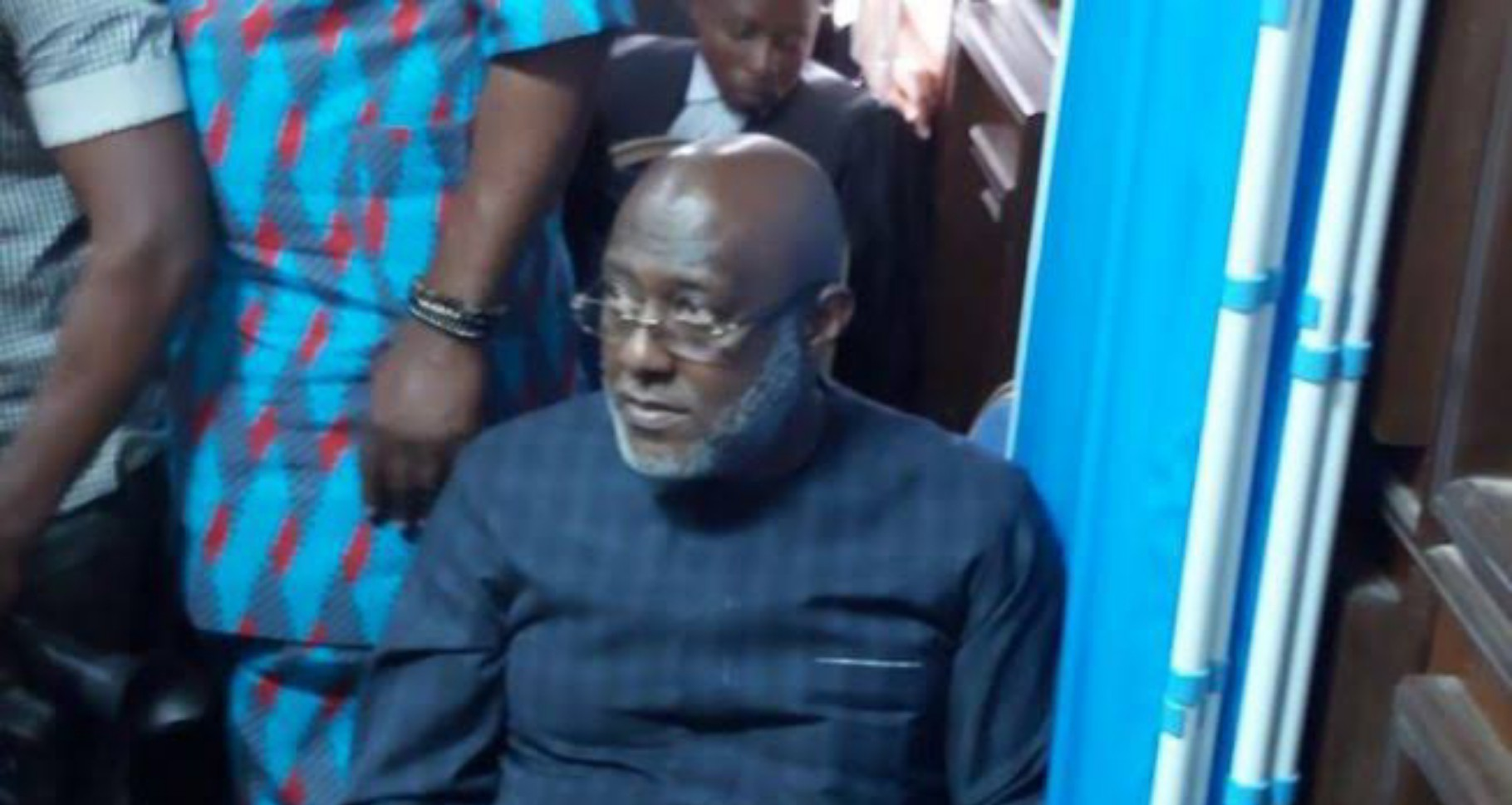 Metuh flies out for medical treatment