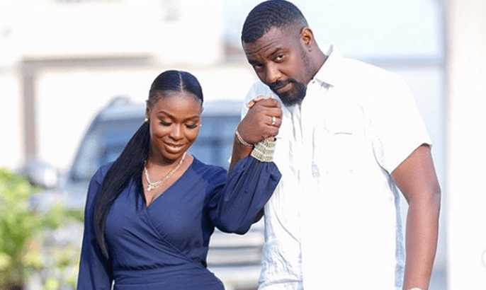 John Dumelo's wife writes to him after he lost out on being elected as a Ghanaian parliament member