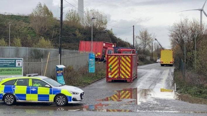 Multiple casualties reported in large explosion near Bristol