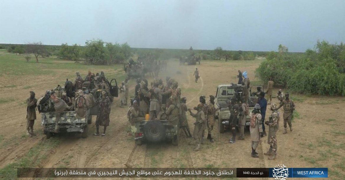 PHOTOS: ISWAP Reportedly Captures Newly Inducted Nigerian Army Armoured Vehicle